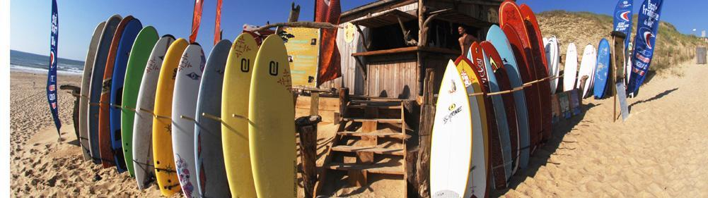 Surf boards to rent in Seignosse and Hossegor